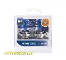 Автолампы H4 SVS White 5000K