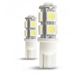 Лампа светодиодная w5w T10 9smd